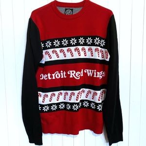 NHL Red Wings Ugly Sweater. Size: L